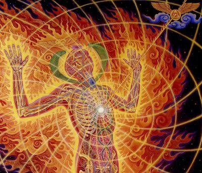 Paul Weston Alex Grey Holy Fire