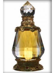 Perfume bottle elaborate